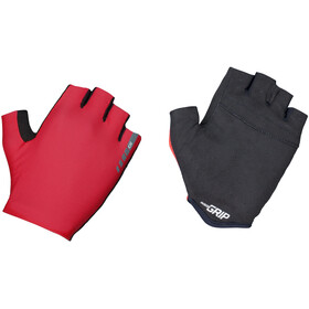 GripGrab Aerolite InsideGrip Short Finger Gloves red